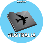 Cheap Flights Ticket Australia icon