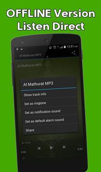 2 Schermata Al Mathurat MP3