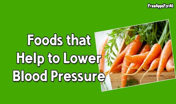 Lower Blood Pressure Foods poster