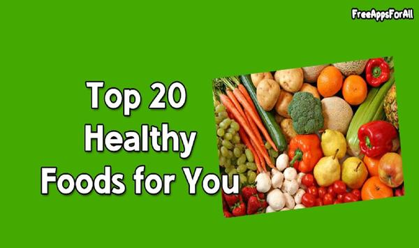 Best Healthy Food for You poster