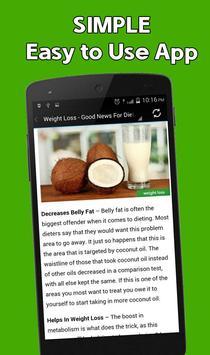 Coconut Oil Benefit Uses apk screenshot