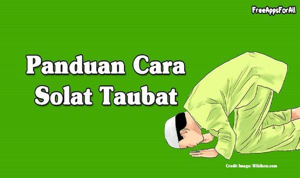 Cara Solat Taubat poster
