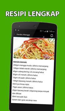 Resepi Kerabu apk screenshot