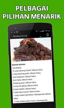 Resepi Rendang apk screenshot