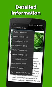 Alkaline Foods for You apk screenshot