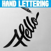 Hand Lettering Designs icon