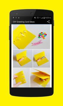 DIY Greeting Card Ideas apk screenshot