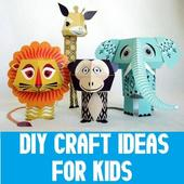 DIY Crafts Ideas for Kids icon