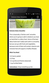 Detox Smoothies Recipes screenshot 2