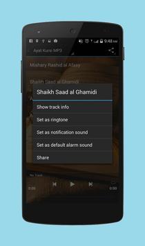 Ayat Kursi MP3 apk screenshot