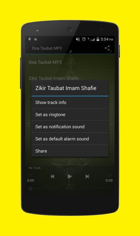 doa taubat mp3 download free