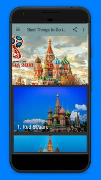 Best Things to Do in Moscow - World Cup 2018 poster