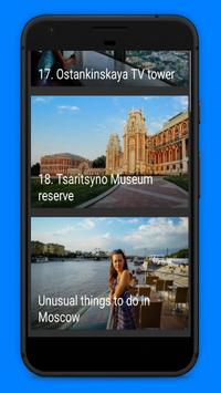Best Things to Do in Moscow - World Cup 2018 apk screenshot