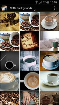 Coffee Backgrounds poster