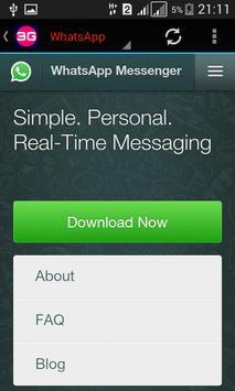 3G Ultimate Browser screenshot 3