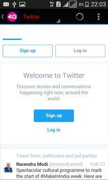 4G Ultimate Browser screenshot 2