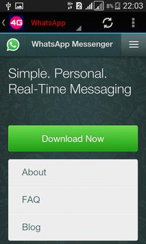 4G Ultimate Browser screenshot 3