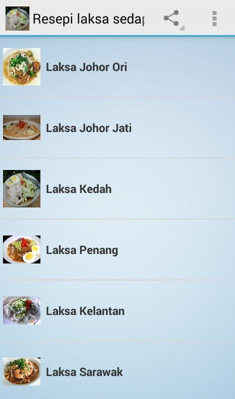 Resepi Laksa Sedap For Android Apk Download