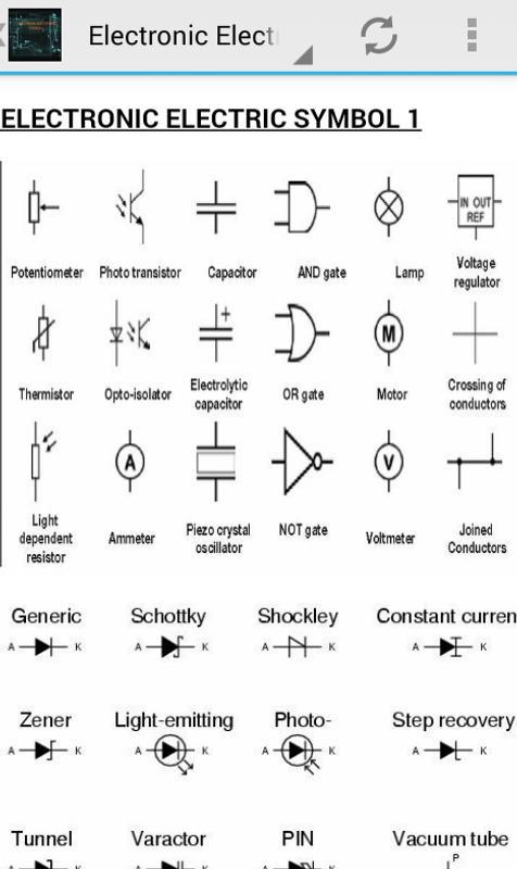 Luxury Electrical Electronics Symbols Mold - Electrical Circuit ...