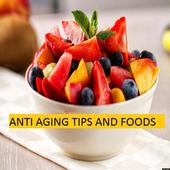 Anti Aging Tips and Foods icon