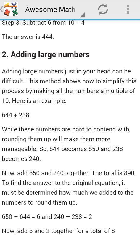 Math Tricks For Begineer poster