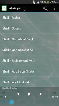 Surah Al Waqi'ah MP3 poster