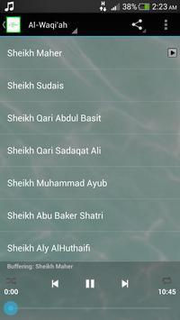 Surah Al Waqi'ah MP3 screenshot 1