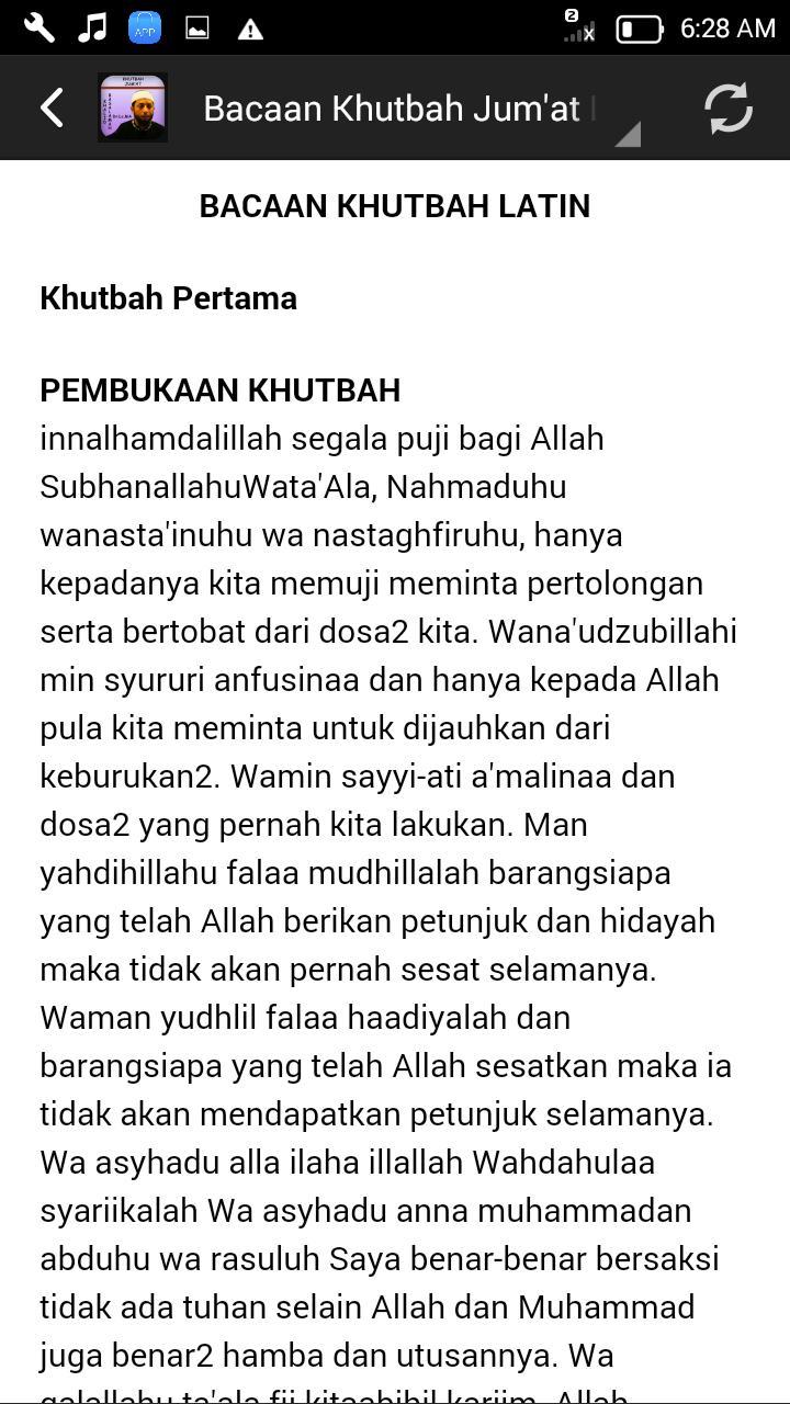 Khutbah Jumat Khalid Offline For Android Apk Download