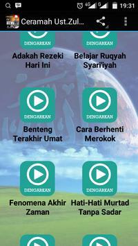 Ceramah Ust.Zulkifli Offline poster