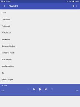 Gambus Sholawat MP3 Full screenshot 2