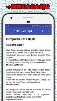 Kata Kata Bijak Penyemangat screenshot 2