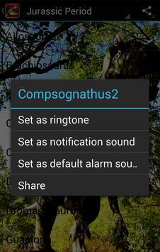 Dinosaur Sounds apk screenshot