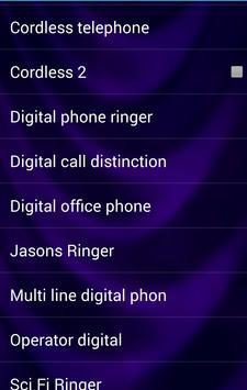 Telephone Sounds and Ringtones screenshot 3