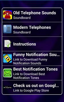 Telephone Sounds and Ringtones poster
