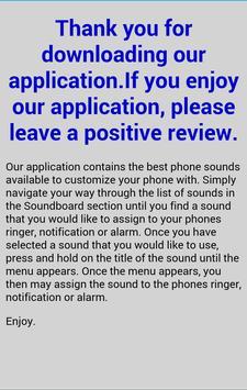 Telephone Sounds and Ringtones screenshot 4
