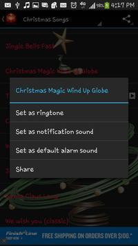 Christmas Songs Ringtones apk screenshot