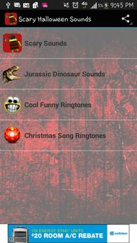 Scary Sounds Ringtones poster