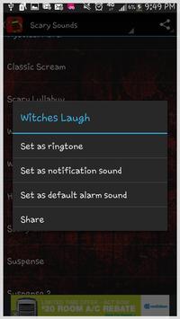Scary Sounds Ringtones apk screenshot