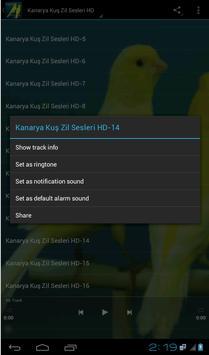 Kanarya Kuş Zil Sesleri HD screenshot 1