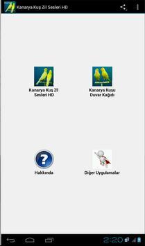 Kanarya Kuş Zil Sesleri HD screenshot 3
