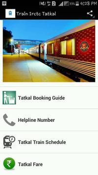 Train Irctc tatkal screenshot 1