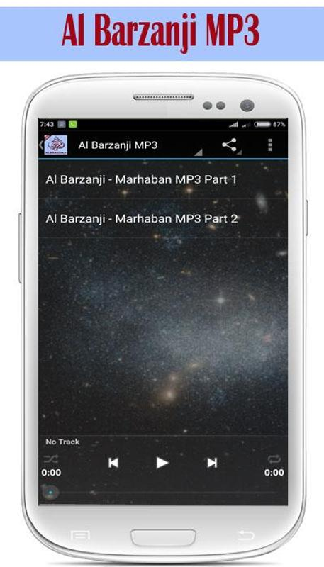 Maulid al barzanji mp3 offline for android apk download.