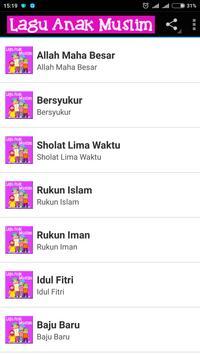Lagu Anak Muslim Affiche