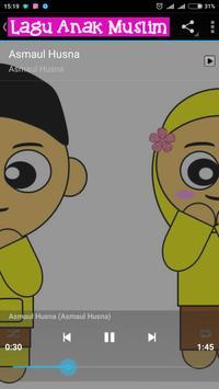 Lagu Anak Muslim capture d'écran 2