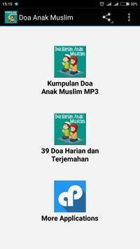 Doa Anak Muslim poster