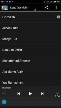 Lagu Qasidah MP3 plakat