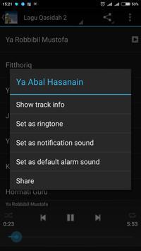 Lagu Qasidah MP3 screenshot 2