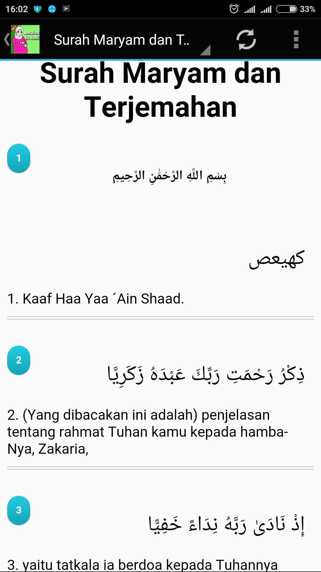 Amalan Ibu Hamil For Android Apk Download
