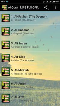 Al Quran MP3 Full Offline 海報