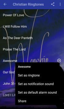 Christian Ringtones screenshot 2